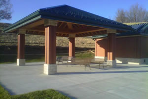 Fort Leavenworth Cemetery Shelter